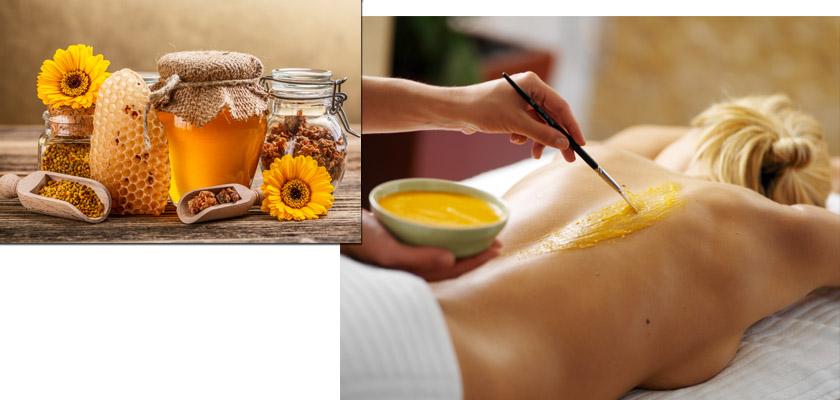 медовій массаж от целлюлита