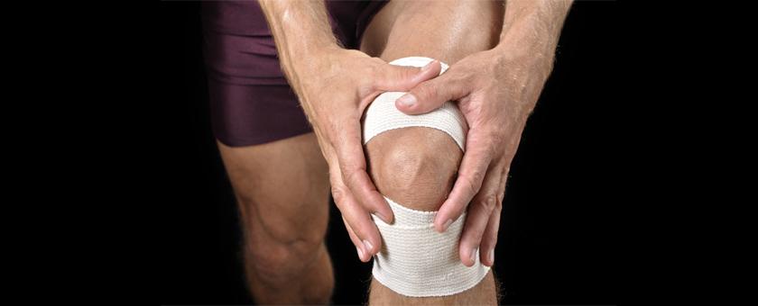 Боль в колене при деформирующем артрозе коленного сустава. Фото