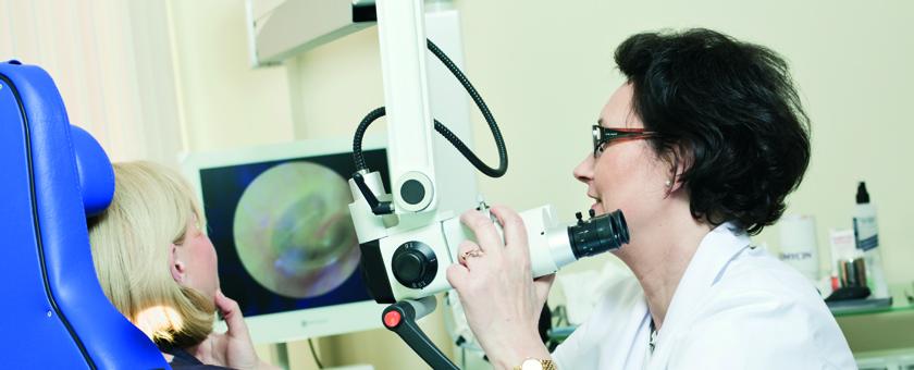 Диагностика нарушений слуха. Фото