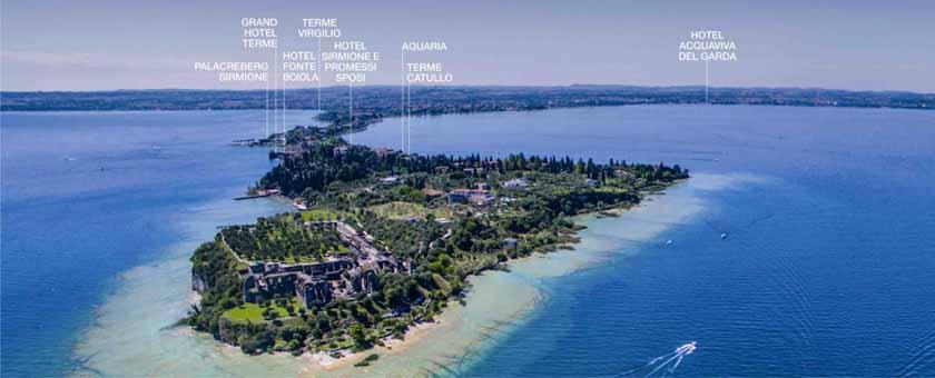 Программы женского здоровья внедрили санатории курорта Терме Сирмионе, расположенного на живописном острове озера Гарда в Италии. Фото