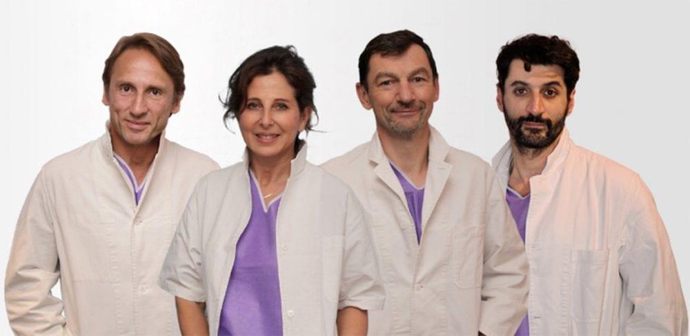 Врачи Института груди в Париже за органосохраняющие операции при раке молочной железы. Фото