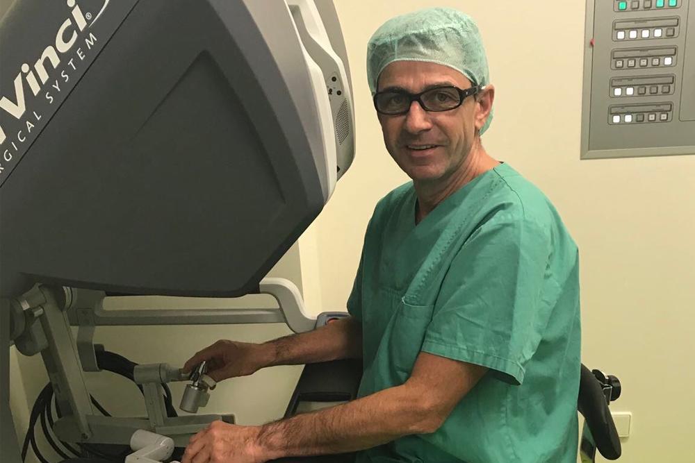 Профессор, доктор меднаук Мартин Кригмайр из немецкой урологической клиники München - Planegg, Германия. Фото