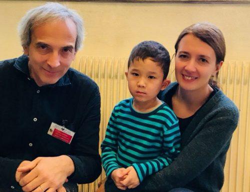Лечение детей за границей: малыш Данияр вырастет здоровым