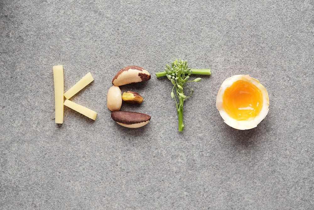 В основе кетодиеты жирные продукты. Фото